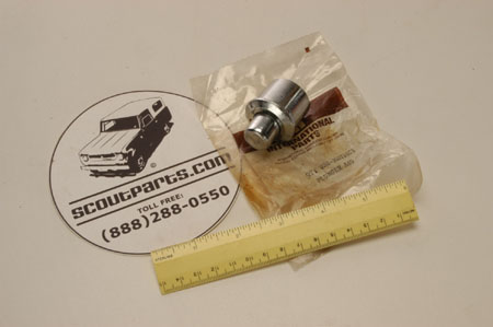Scout II Lower Tailgate Push Button For 1971 To 1980 .